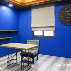 3樓美甲工作室:  臥室 by 心之所向設計美學工作室