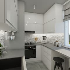Small-kitchens by Polilinia Design