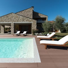 Garden Pool by Mirani Sas