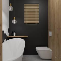 Łazienka z heksagonami: styl , w kategorii Łazienka zaprojektowany przez Polilinia Design