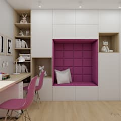 غرفة الاطفال تنفيذ Polilinia Design,