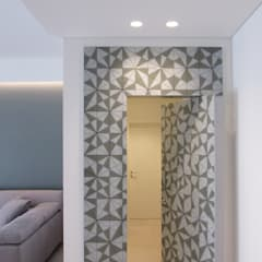ประตูกระจก โดย B+P architetti, โมเดิร์น