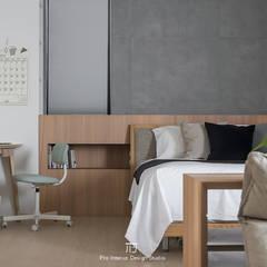 臥室三:  小臥室 by 璞玥室內裝修有限公司