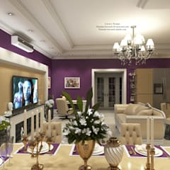 ​Flat in Odessa. Квартира в Одессе.: Столовые комнаты в . Автор – Patanin Luxury Design