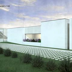 Puertas de garajes de estilo  por ATELIER OPEN ® - Arquitetura e Engenharia,