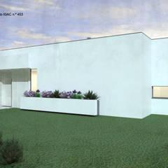 Casa da Piscina | Azeitão: Casas de campo  por ATELIER OPEN ® - Arquitetura e Engenharia