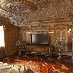 ​Luxury arabic bedroom. Роскошная арабская спальня.: Спальни в . Автор – Patanin Luxury Design