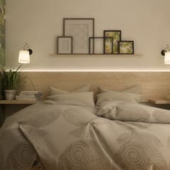 Bedroom by  ILAB2.0 Design Studio,