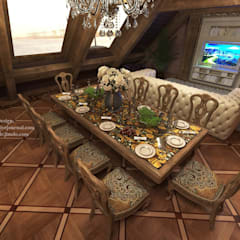 Mansard. Мансарда.: Столовые комнаты в . Автор – Patanin Luxury Design