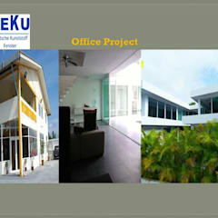 Office Project:  อาคารสำนักงาน by DeKu German Windows Co.,ltd
