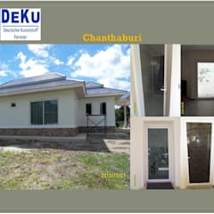 Housing Project:Chanthaburi:  อาคารสำนักงาน by DeKu German Windows Co.,ltd