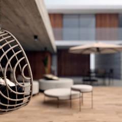 E025   Projeto residencial Casas mediterrâneas por Estúdio 2 : 1 Mediterrâneo