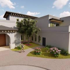 Single family home by QP Arquitectos SA de CV