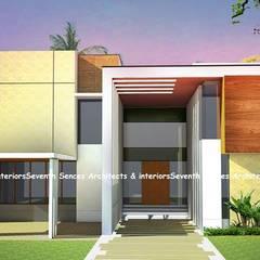 منازل تنفيذ Seventh Sence Architects and Interiors , أسيوي