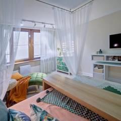 Студия дизайна интерьеров Екатерины Дозмолиной:  tarz Yatak Odası