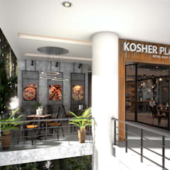 Kosher restaurant by UpMedio Design:  Gastronomy by UpMedio Design , Modern