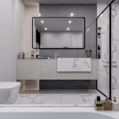 Sapanca Villa Modern Banyo VERO CONCEPT MİMARLIK Modern