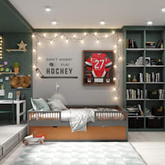 Boys Bedroom by D'POLLY,