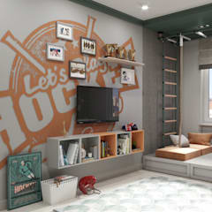Boys Bedroom by D'POLLY, Eclectic