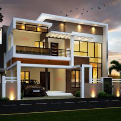 Casas  por CreoHomes Pvt Ltd