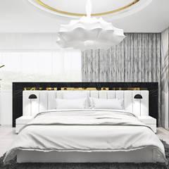 Aranżacje nowoczesnej sypialni | ARTDESIGN: styl , w kategorii Sypialnia zaprojektowany przez ARTDESIGN architektura wnętrz