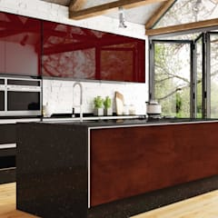 Kitchen units by INUSITTÁ COZINHAS,