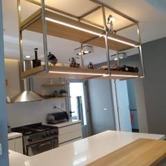 置入式廚房 by MOBILFE