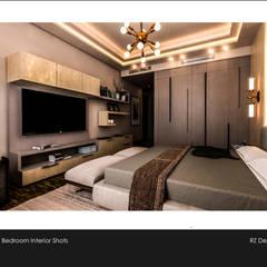 Private residence - Palm Hills Golf:  غرفة نوم تنفيذ Reham Ezzeldin Design Studio