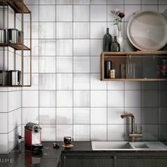 مطبخ ذو قطع مدمجة تنفيذ Equipe Ceramicas