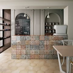 Built-in kitchens by Equipe Ceramicas