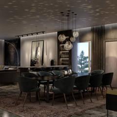 :  غرفة السفرة تنفيذ STUDIO PARADIGM