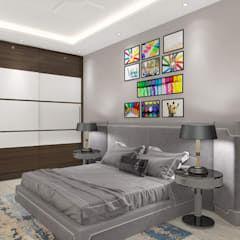 Small bedroom by JC INNOVATES