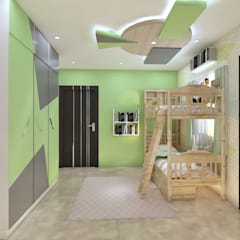 Residential Work :  Boys Bedroom by JC INNOVATES
