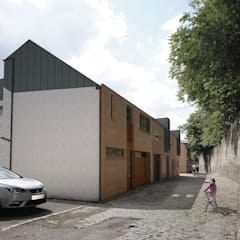 Glasgow Mews House Design:  Small houses by Allison Architects