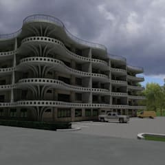 Mixed Use Building Design Dodoma, Tanzania:  Hotels by http://s3da-design.com/