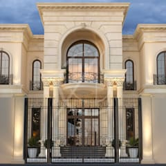 Neoclassical Palace Design:  Detached home by Comelite Architecture, Structure and Interior Design