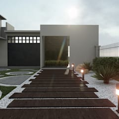 Rock Garden by DISARQ ARQUITECTOS.,