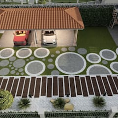 Rock Garden by DISARQ ARQUITECTOS., Modern