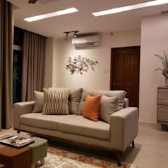 Sapphire Residences:  Living room by Geraldine Oliva