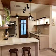 Small kitchens by Geraldine Oliva