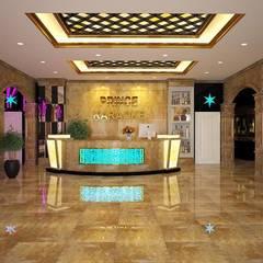 Tấm ốp vân đá phù hợp với những không gian nào?:  Quán bar & club by Công ty TNHH truyền thông nối việt