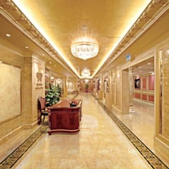 Tấm ốp vân đá phù hợp với những không gian nào?:  Khách sạn by Công ty TNHH truyền thông nối việt