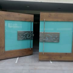 Wooden doors by 360 Home Interior, Modern