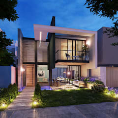 Houses by INSPIRA ARQUITECTOS, Modern