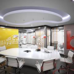 BEAT: Oficinas de estilo  por INSPIRA ARQUITECTOS