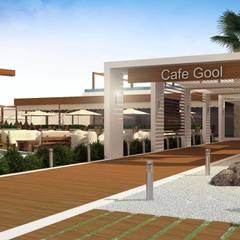 ANTE MİMARLIK  – Cafe Gool:  tarz Yeme & İçme