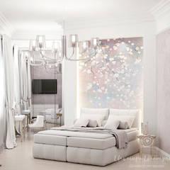 мое портфолио: Спальни в . Автор – Дизайнер интерьера Ильмира Ибатулина, Эклектичный