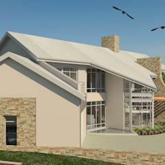 Modern Residence Concept, Johannesburg:  Bungalows by Nuclei Lifestyle Design,