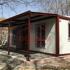 GÖKSAN PREFABRİK SAN.TİC.LTD.ŞTİ – Bağ evi konteyner:  tarz Kış Bahçesi