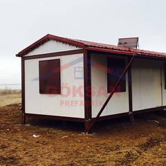 GÖKSAN PREFABRİK SAN.TİC.LTD.ŞTİ – Bağ evi konteyner:  tarz Teras